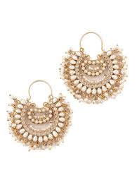 jumka earrings buy pearl jhumka earrings online at jaypore
