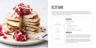 best cookbook template pictures resume samples u0026 writing guides