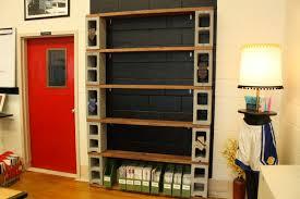 Concrete Block Bed Frame Wall Shelves Design Sles Collection Shelves For Concrete Walls