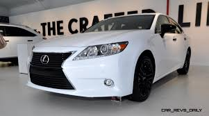 car lexus 2015 2015 lexus es350 crafted line arriving in november from 42 500