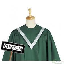 custom stoles custom choir robes v choir stole with border