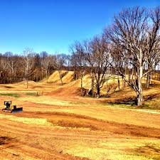 pro national motocross indiana mx national track build out continues moto related