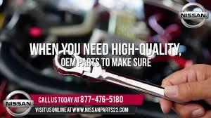 genuine nissan oem parts at wholesale price youtube