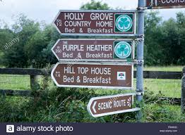 Ireland Bed And Breakfast Bed And Breakfast Signs Ring Of Kerry Killarney Ireland Stock