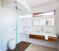 san francisco modern console sink bathroom contemporary with three