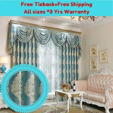 blackout blue teal sheer drape curtain fabric eyelet pleat