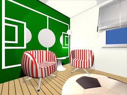 wandgestaltung jugendzimmer wohndesign kühles moderne dekoration jugendzimmer einrichten
