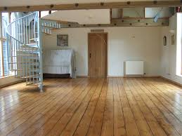medium oak stain applied to pine floor for the home