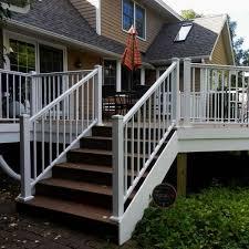 aluminum railing kit series 100 adjustable stair rail