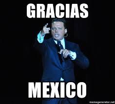 Memes Luis Miguel - gracias mexico luis miguel 2 meme generator