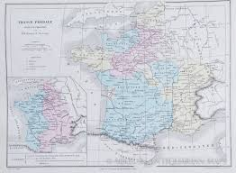Metz France Map by Map Of Feudal France 1868