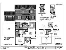 floor plans for 2 story homes pennwest 2 story modular bethel v hs172ma find a home