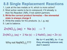 chapter 8 chemical reactions ppt download