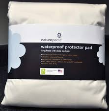 naturepedic waterproof organic mattress protector review sleepopolis