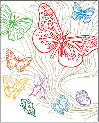 creative beautiful butterflies designs with a splash of