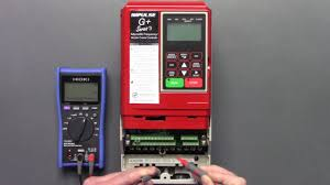 magnetek crane inverter drive g vg series 3 static check youtube