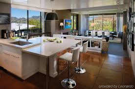 open space kitchen and living room u2014 smith design