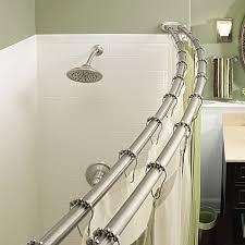 best 25 shower rod ideas on shower storage bathroom