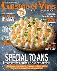 cuisine vins achat magazine cuisine et vins de n 178 en numérique