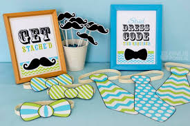 mustache baby shower decorations surprising mustache baby shower plates 32 in baby shower