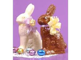 white chocolate bunny chocolate easter bunnies candy favorites