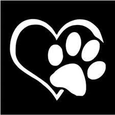 forester decal aliexpress com buy love footprint heart paw vinyl decal car