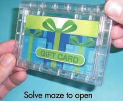 gift card puzzle 6 pack gift card maze puzzle money challenge christmas