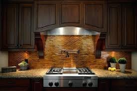 copper tiles for kitchen backsplash copper tile backsplash cozy kitchen copper tiles pot filler copper