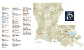 Louisiana Parishes Map by Maps Of The Largest Industrial Projects Driving Growth In South