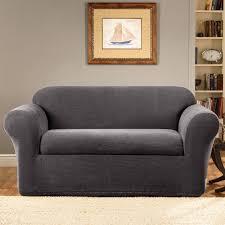 2 piece t cushion sofa slipcovers living room piece t cushion sofa slipcover sofas sectionals room