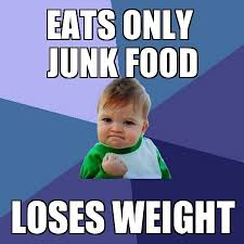 Food Photo Meme - eats only junk food funny meme funny memes