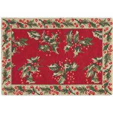 Round Red Rugs Christmas Rugs You U0027ll Love Wayfair