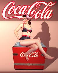 coca cola pin up girl by kaleighadams on deviantart