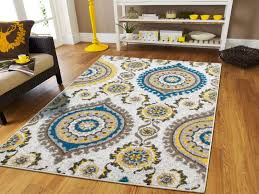 living room rugs on clearance 8x10 yellow gray blue brown