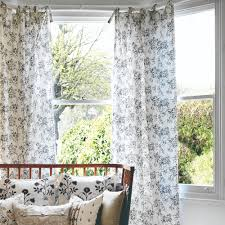 Tie Top Curtains Cotton by 13 Beautiful Window Dressing Ideas