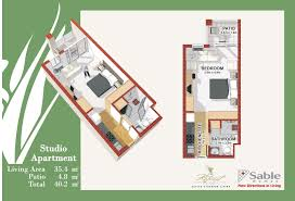 One Bedroom Apartment Plans Well Suited One Bedroom Design Layout 16 Nice Realistic Layout For