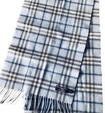 light blue burberry scarf burberry light blue nova check cashmere scarf wrap tradesy