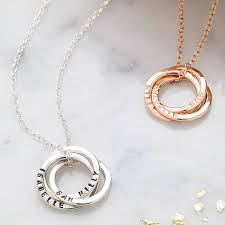 child name necklace best 25 ring necklace ideas on jewels clothing