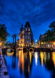 Where Is Amsterdam On A Map Amsterdam To Bruges Bike And Barge Tour Belgium Holland Tripsite