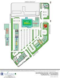The Avenues Mall Map Morningside Crossing In Toronto Ontario 62 Stores Location