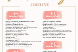 wedding checklist 6 month wedding planning timeline aisle