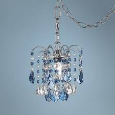 Plug In Crystal Chandelier 41 Best Girly Room Images On Pinterest Mini Chandelier Crystal