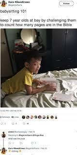 Babysitting Meme - crazy babysitting memes barnorama