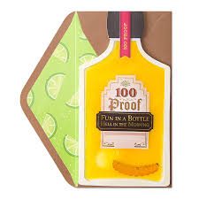 birthday tequila tequila bottle funny birthday cards papyrus