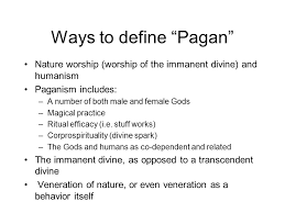 what is a pagan christian magic witchcraft religion islamic