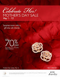 mothers day jewelry sale manila shopper metro stores s day jewelry sale 2013