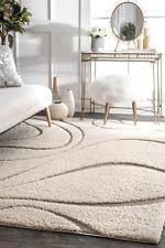 Modern Shag Rug Nuloom 2 8 X 8 Machine Made Caroyln Rug In Transitional Ebay