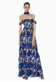 evening maxi dresses anastasiia ivanova evening maxi dress black color w blue floral