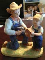 home interior figurines new denim days cookies for santa figurine home interiors homco