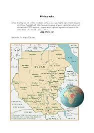 Map Of Sudan Is Identity The Root Cause Of Sudan U0027s Civil Wars